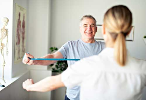 Concept of physiotherapy services in Coral Springs