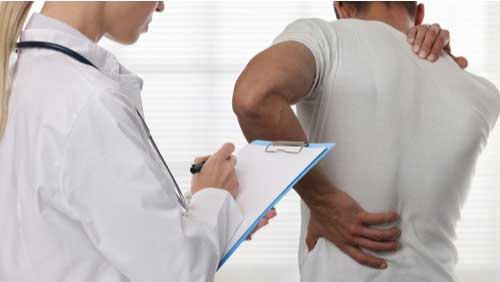 Concept of Back injury treatment in Coral Springs, Florida